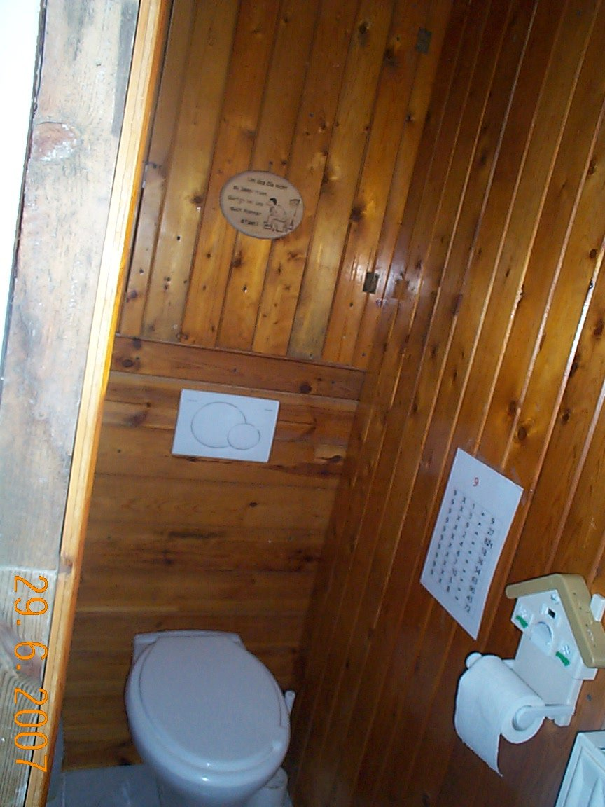 Gäste-WC fast fertig