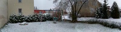 Ziesar im Schnee