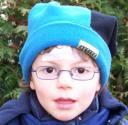 Max mit Brille