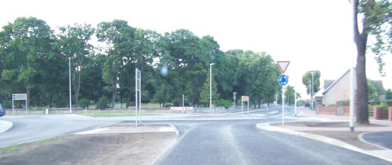 Kreisverkehr in Ziesar