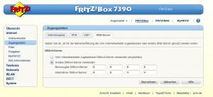 DNS-Einstellung Fritz.Box