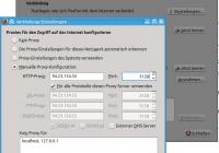 http-Proxy in Firefox