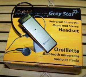 Bluetooth Headset HB19 für KM900 / ARENA