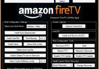 >Amazon FireTV Utility App