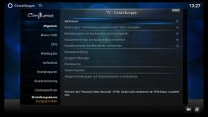 Kodi Einstellungen TV