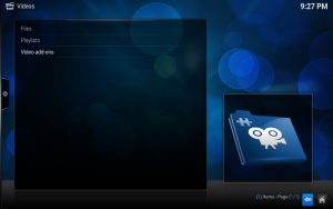 Kodi: Unter Video finden wir Video Add-ONs