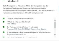 Windows 11 Proxmox erfolgreich